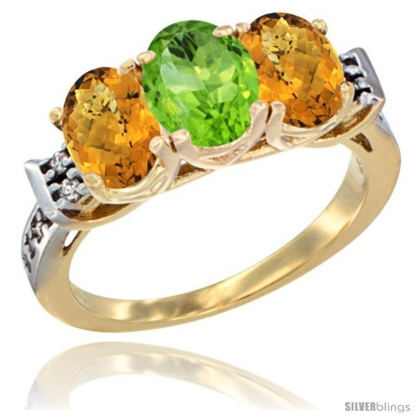https://www.silverblings.com/43632-thickbox_default/10k-yellow-gold-natural-peridot-whisky-quartz-sides-ring-3-stone-oval-7x5-mm-diamond-accent.jpg