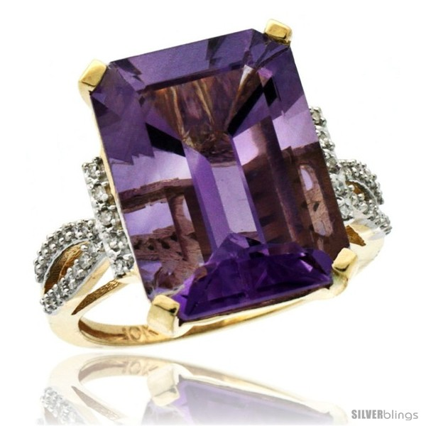 https://www.silverblings.com/43670-thickbox_default/10k-yellow-gold-diamond-amethyst-ring-12-ct-emerald-shape-16x12-stone-3-4-in-wide.jpg