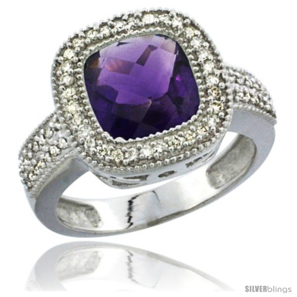 https://www.silverblings.com/43690-thickbox_default/10k-white-gold-natural-amethyst-ring-cushion-cut-9x9-stone-diamond-accent.jpg