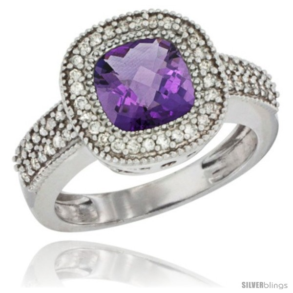 https://www.silverblings.com/43693-thickbox_default/10k-white-gold-natural-amethyst-ring-cushion-cut-7x7-stone-diamond-accent.jpg
