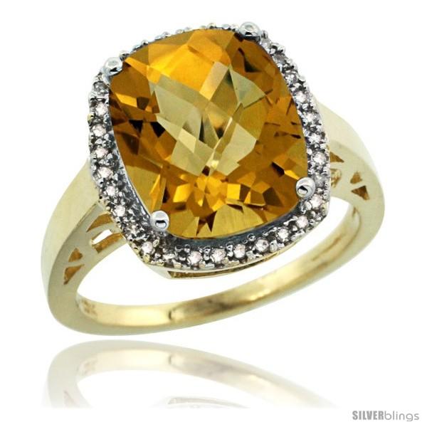 https://www.silverblings.com/43925-thickbox_default/10k-yellow-gold-diamond-whisky-quartz-ring-5-17-ct-checkerboard-cut-cushion-12x10-mm-1-2-in-wide.jpg