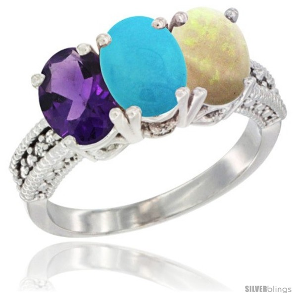 https://www.silverblings.com/43981-thickbox_default/10k-white-gold-natural-amethyst-turquoise-opal-ring-3-stone-oval-7x5-mm-diamond-accent.jpg