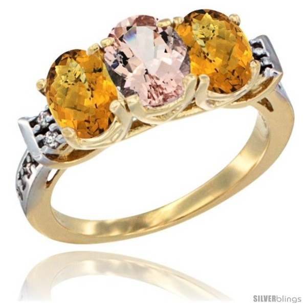 https://www.silverblings.com/44187-thickbox_default/10k-yellow-gold-natural-morganite-whisky-quartz-sides-ring-3-stone-oval-7x5-mm-diamond-accent.jpg