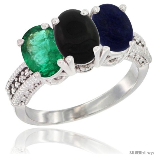 https://www.silverblings.com/44608-thickbox_default/14k-white-gold-natural-emerald-black-onyx-lapis-ring-3-stone-7x5-mm-oval-diamond-accent.jpg