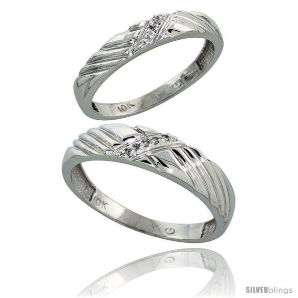 https://www.silverblings.com/44772-thickbox_default/10k-white-gold-diamond-wedding-rings-2-piece-set-for-him-5-mm-her-3-5-mm-0-05-cttw-brilliant-cut-style-ljw018w2.jpg
