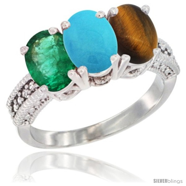 https://www.silverblings.com/44868-thickbox_default/14k-white-gold-natural-emerald-turquoise-tiger-eye-ring-3-stone-7x5-mm-oval-diamond-accent.jpg