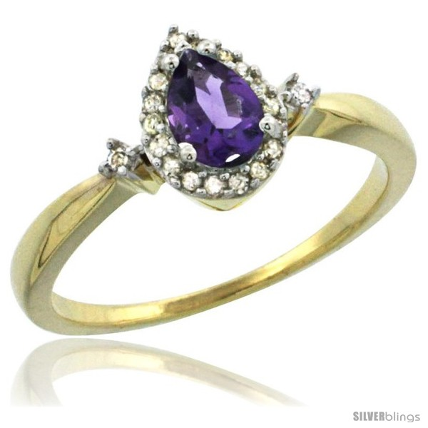 https://www.silverblings.com/44880-thickbox_default/10k-yellow-gold-diamond-amethyst-ring-0-33-ct-tear-drop-6x4-stone-3-8-in-wide.jpg