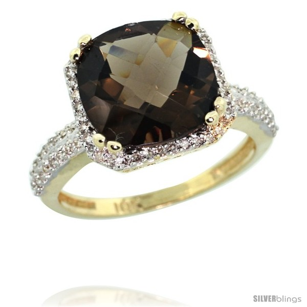 https://www.silverblings.com/44897-thickbox_default/10k-yellow-gold-diamond-halo-smoky-topaz-ring-checkerboard-cushion-11-mm-5-85-ct-1-2-in-wide.jpg