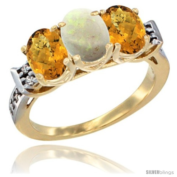 https://www.silverblings.com/45243-thickbox_default/10k-yellow-gold-natural-opal-whisky-quartz-sides-ring-3-stone-oval-7x5-mm-diamond-accent.jpg
