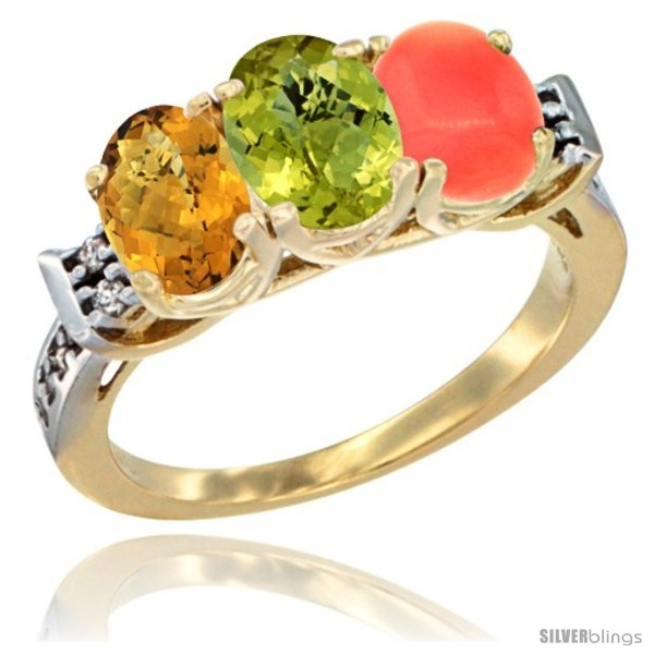 https://www.silverblings.com/45432-thickbox_default/10k-yellow-gold-natural-whisky-quartz-lemon-quartz-coral-ring-3-stone-oval-7x5-mm-diamond-accent.jpg