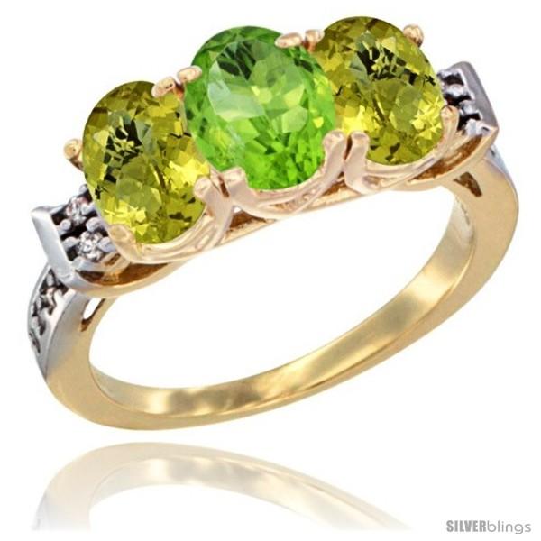 https://www.silverblings.com/47018-thickbox_default/10k-yellow-gold-natural-peridot-lemon-quartz-sides-ring-3-stone-oval-7x5-mm-diamond-accent.jpg