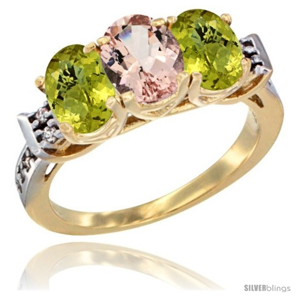 https://www.silverblings.com/47545-thickbox_default/10k-yellow-gold-natural-morganite-lemon-quartz-sides-ring-3-stone-oval-7x5-mm-diamond-accent.jpg