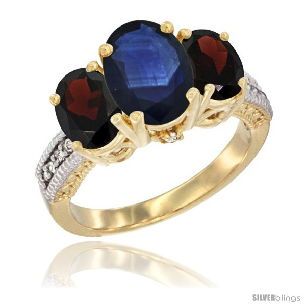 https://www.silverblings.com/47751-thickbox_default/14k-yellow-gold-ladies-3-stone-oval-natural-blue-sapphire-ring-garnet-sides-diamond-accent.jpg