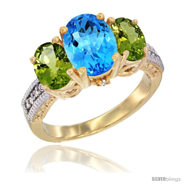 https://www.silverblings.com/48428-thickbox_default/14k-yellow-gold-ladies-3-stone-oval-natural-swiss-blue-topaz-ring-peridot-sides-diamond-accent.jpg