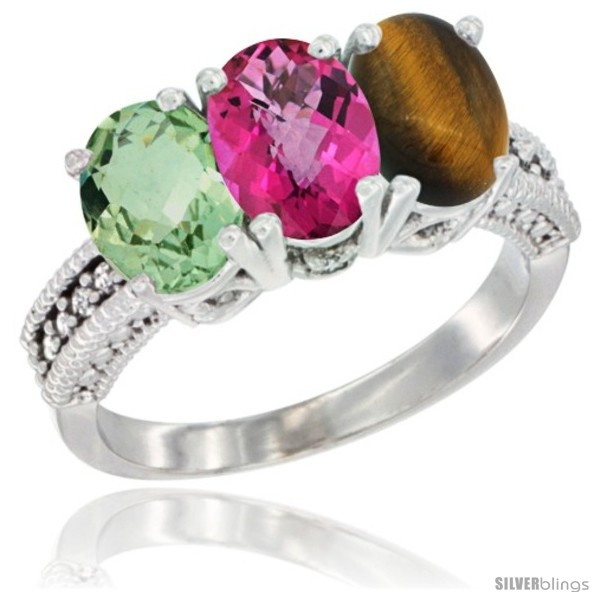 https://www.silverblings.com/4881-thickbox_default/14k-white-gold-natural-green-amethyst-pink-topaz-tiger-eye-ring-3-stone-7x5-mm-oval-diamond-accent.jpg