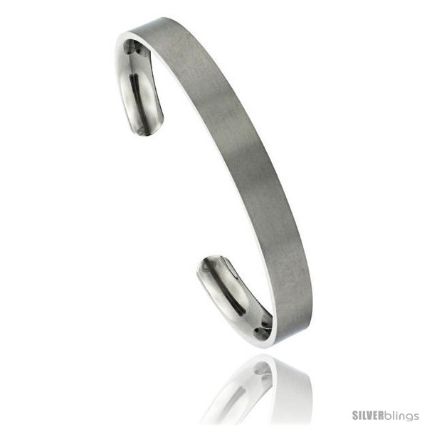 https://www.silverblings.com/49640-thickbox_default/titanium-flat-cuff-bangle-bracelet-gold-dot-ends-matte-finish-comfort-fit-8-in-long-8-mm-5-16-in-wide.jpg