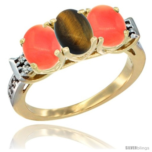 https://www.silverblings.com/49753-thickbox_default/10k-yellow-gold-natural-tiger-eye-coral-sides-ring-3-stone-oval-7x5-mm-diamond-accent.jpg