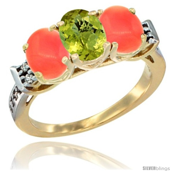 https://www.silverblings.com/49759-thickbox_default/10k-yellow-gold-natural-lemon-quartz-coral-sides-ring-3-stone-oval-7x5-mm-diamond-accent.jpg