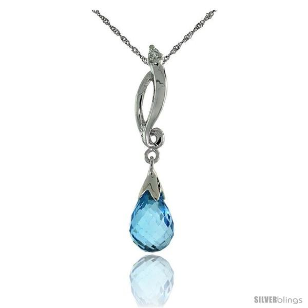 https://www.silverblings.com/50721-thickbox_default/10k-white-gold-swirl-blue-topaz-pendant-w-0-01-carat-brilliant-cut-diamond-1-1-8-in-29mm-tall-w-18-sterling-silver.jpg
