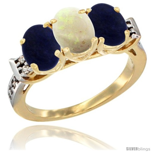 https://www.silverblings.com/50807-thickbox_default/10k-yellow-gold-natural-opal-lapis-sides-ring-3-stone-oval-7x5-mm-diamond-accent.jpg