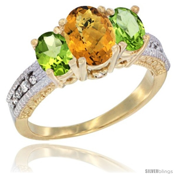 https://www.silverblings.com/50988-thickbox_default/14k-yellow-gold-ladies-oval-natural-whisky-quartz-3-stone-ring-peridot-sides-diamond-accent.jpg