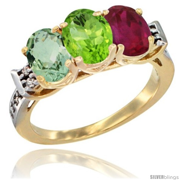 https://www.silverblings.com/513-thickbox_default/10k-yellow-gold-natural-green-amethyst-peridot-ruby-ring-3-stone-oval-7x5-mm-diamond-accent.jpg