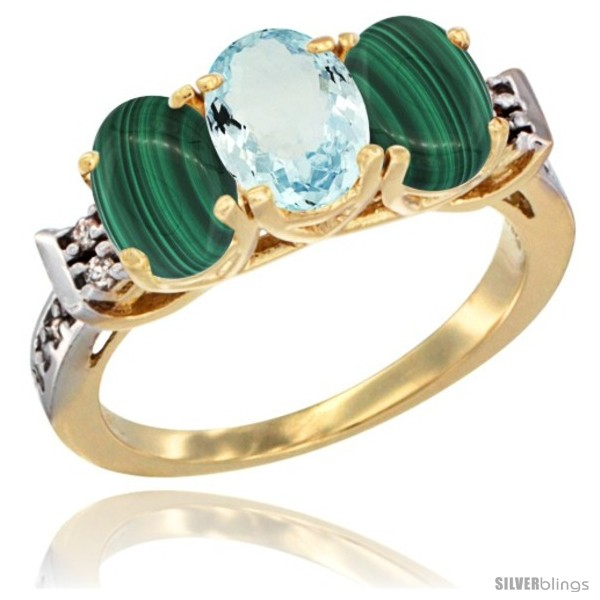 https://www.silverblings.com/51424-thickbox_default/10k-yellow-gold-natural-aquamarine-malachite-sides-ring-3-stone-oval-7x5-mm-diamond-accent.jpg