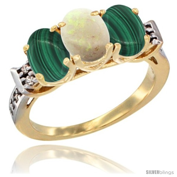 https://www.silverblings.com/51678-thickbox_default/10k-yellow-gold-natural-opal-malachite-sides-ring-3-stone-oval-7x5-mm-diamond-accent.jpg