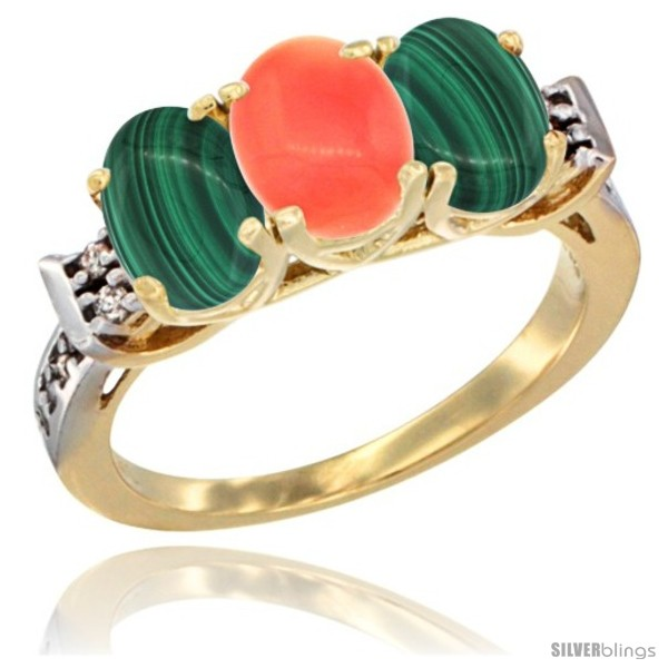 https://www.silverblings.com/51937-thickbox_default/10k-yellow-gold-natural-coral-malachite-sides-ring-3-stone-oval-7x5-mm-diamond-accent.jpg