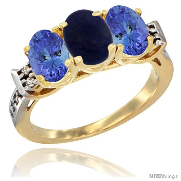https://www.silverblings.com/52604-thickbox_default/10k-yellow-gold-natural-lapis-tanzanite-sides-ring-3-stone-oval-7x5-mm-diamond-accent.jpg