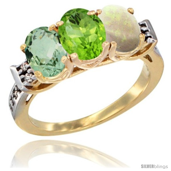 https://www.silverblings.com/531-thickbox_default/10k-yellow-gold-natural-green-amethyst-peridot-opal-ring-3-stone-oval-7x5-mm-diamond-accent.jpg