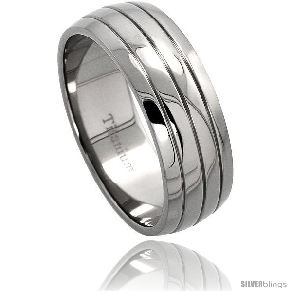 https://www.silverblings.com/53140-thickbox_default/titanium-8mm-dome-wedding-band-ring-3-grooves-comfort-fit.jpg