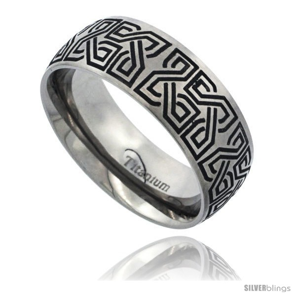 https://www.silverblings.com/54354-thickbox_default/titanium-8mm-dome-wedding-band-ring-black-laser-etched-celtic-square-knots-pattern-matte-finish-comfort-fit.jpg