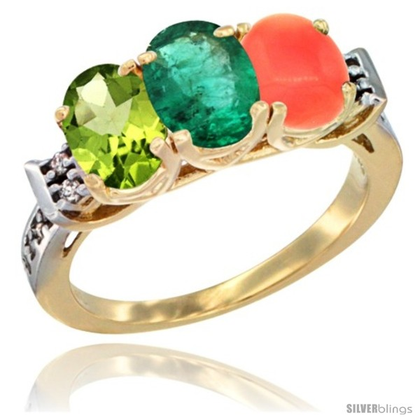 https://www.silverblings.com/54728-thickbox_default/10k-yellow-gold-natural-peridot-emerald-coral-ring-3-stone-oval-7x5-mm-diamond-accent.jpg