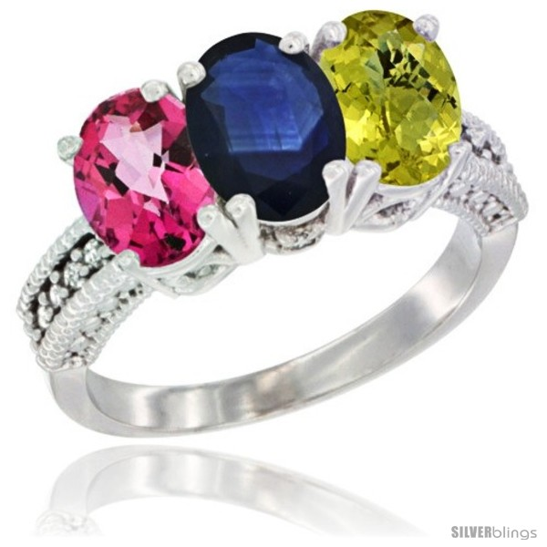 https://www.silverblings.com/55308-thickbox_default/14k-white-gold-natural-pink-topaz-blue-sapphire-lemon-quartz-ring-3-stone-7x5-mm-oval-diamond-accent.jpg