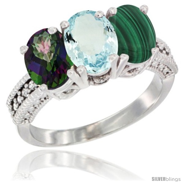 https://www.silverblings.com/55410-thickbox_default/10k-white-gold-natural-mystic-topaz-aquamarine-malachite-ring-3-stone-oval-7x5-mm-diamond-accent.jpg