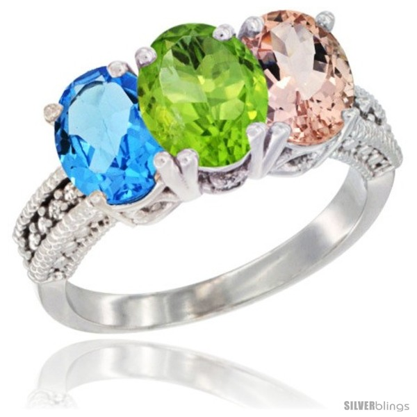 https://www.silverblings.com/55480-thickbox_default/10k-white-gold-natural-swiss-blue-topaz-peridot-morganite-ring-3-stone-oval-7x5-mm-diamond-accent.jpg