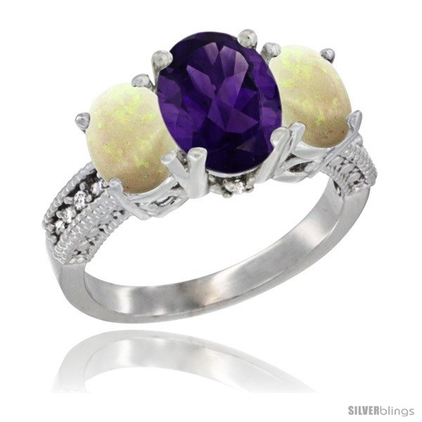https://www.silverblings.com/56195-thickbox_default/14k-white-gold-ladies-3-stone-oval-natural-amethyst-ring-opal-sides-diamond-accent.jpg