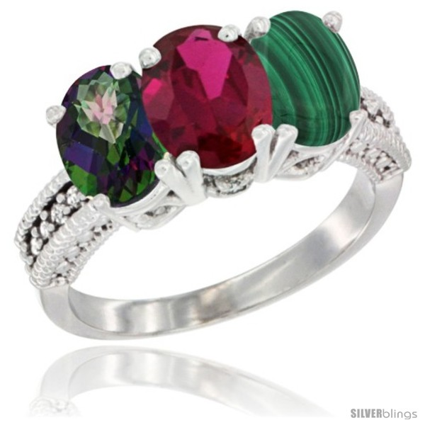 https://www.silverblings.com/56345-thickbox_default/10k-white-gold-natural-mystic-topaz-ruby-malachite-ring-3-stone-oval-7x5-mm-diamond-accent.jpg