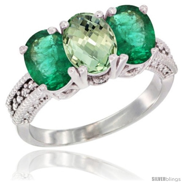 https://www.silverblings.com/5656-thickbox_default/10k-white-gold-natural-green-amethyst-emerald-ring-3-stone-oval-7x5-mm-diamond-accent.jpg