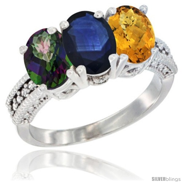 https://www.silverblings.com/57047-thickbox_default/10k-white-gold-natural-mystic-topaz-blue-sapphire-whisky-quartz-ring-3-stone-oval-7x5-mm-diamond-accent.jpg