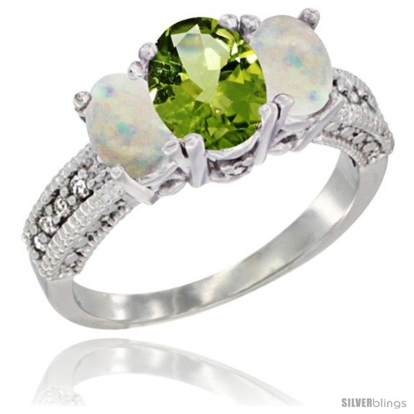 https://www.silverblings.com/57086-thickbox_default/14k-white-gold-ladies-oval-natural-peridot-3-stone-ring-opal-sides-diamond-accent.jpg