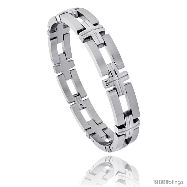 https://www.silverblings.com/572-thickbox_default/stainless-steel-mens-bracelet-w-bars-crosses-1-2-in-wide-8-in-long.jpg