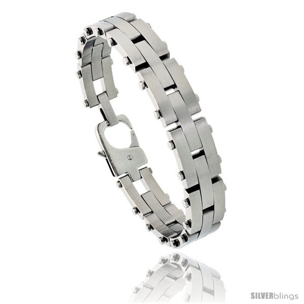 https://www.silverblings.com/574-thickbox_default/stainless-steel-mens-pantera-bracelet-1-2-in-wide-8-in-long.jpg