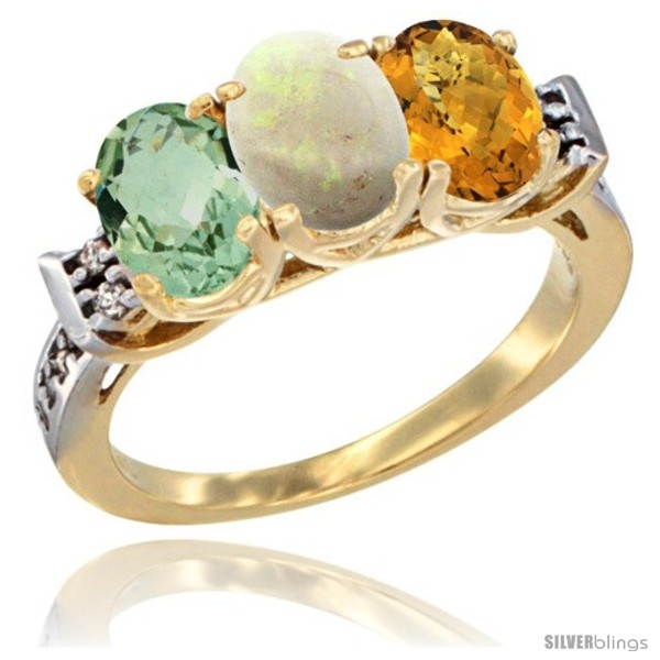https://www.silverblings.com/5750-thickbox_default/10k-yellow-gold-natural-green-amethyst-opal-whisky-quartz-ring-3-stone-oval-7x5-mm-diamond-accent.jpg