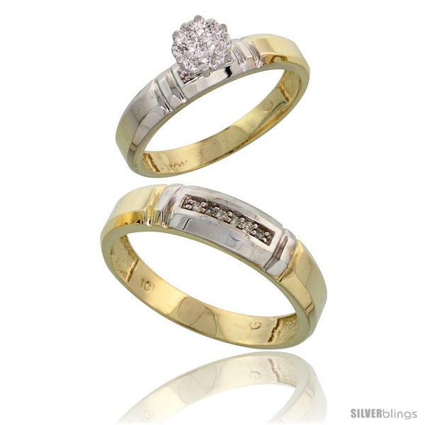 https://www.silverblings.com/57830-thickbox_default/10k-yellow-gold-diamond-engagement-rings-2-piece-set-for-men-and-women-0-08-cttw-brilliant-cut-4mm-5-5mm-wide-style-ljy023em.jpg