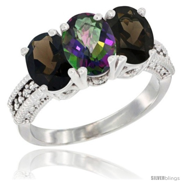 https://www.silverblings.com/57932-thickbox_default/14k-white-gold-natural-mystic-topaz-smoky-topaz-ring-3-stone-7x5-mm-oval-diamond-accent.jpg