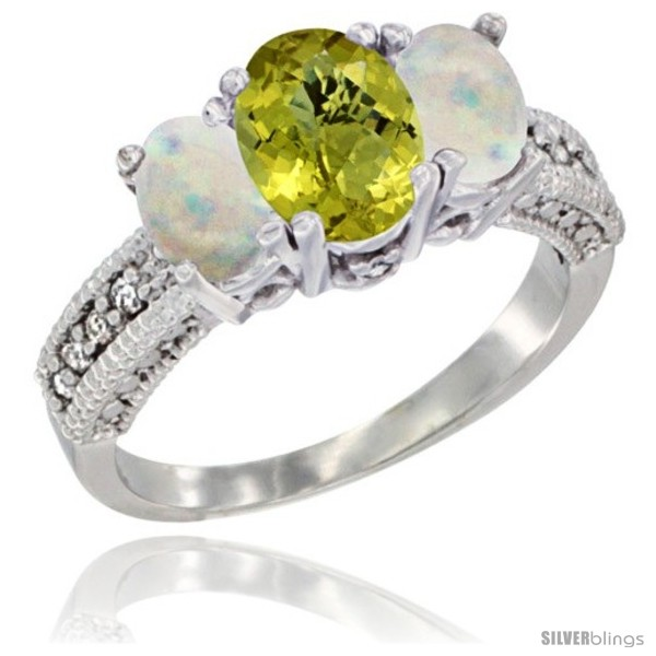 https://www.silverblings.com/58462-thickbox_default/14k-white-gold-ladies-oval-natural-lemon-quartz-3-stone-ring-opal-sides-diamond-accent.jpg