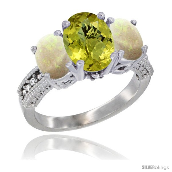 https://www.silverblings.com/58465-thickbox_default/14k-white-gold-ladies-3-stone-oval-natural-lemon-quartz-ring-opal-sides-diamond-accent.jpg