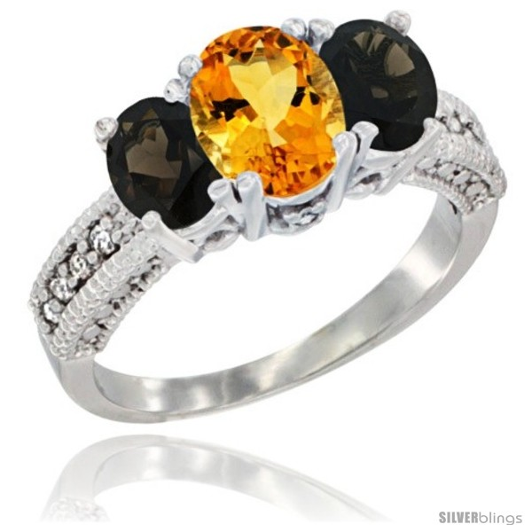 https://www.silverblings.com/58506-thickbox_default/14k-white-gold-ladies-oval-natural-citrine-3-stone-ring-smoky-topaz-sides-diamond-accent.jpg